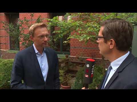 Christian Lindner im N24 Interview: FDP-Chef für Neuordnung der Einwanderung nach Deutschland