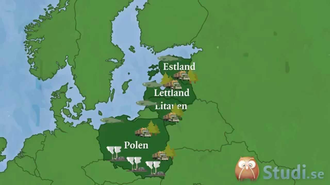 Vilka Lander Tillhor Ostersjon Geografi Studi Se Youtube