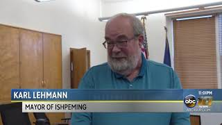 Special meeting held by Ishpeming City Council relating to the City Manager position