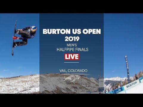 FULL SHOW - Burton US Open Men's Halfpipe Finals