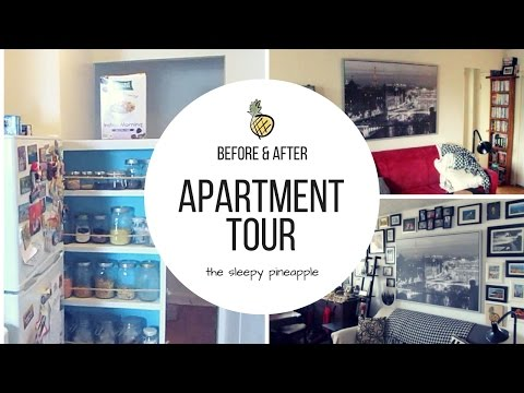 apartment tour | before & after