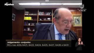 """Gilmar Mendes: """"Não podemos sair aí a receitar cloroquina e tubaína"""""""