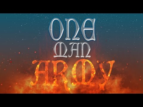 ENSIFERUM - One Man Army (Lyric Video)