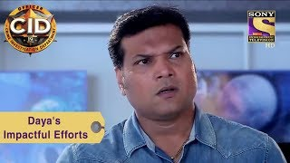 Your Favorite Character | Daya's Efforts In Saving A Little Girl | CID