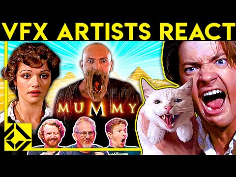 VFX Artists React to THE MUMMY Bad & Great CGi