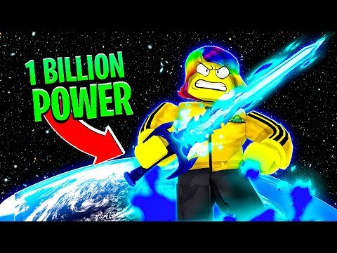 I AM the MOST POWERFUL in the UNIVERSE.. (Roblox)