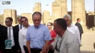 مصر العربية | تأمين مكثف لزياة مدير البنك الدولي بالاقصر عقب تفجيرات