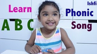ABC Phonic Song Learn Alphabet with Ishfi