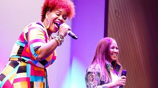 Download Video Mary Mary's singer Erica Campbell & Tina Campbell MP3 3GP MP4