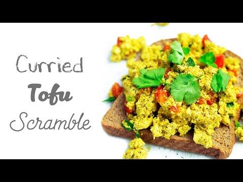 Curried Tofu Scramble (Vegan & Gluten-free)