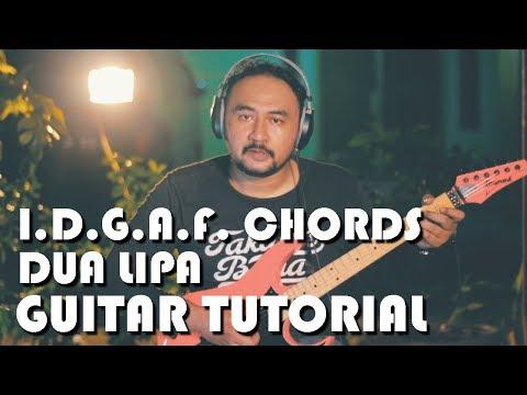 I Don't Give A Fun's Chords-  Dua Lipa (Guitar Tutorial)
