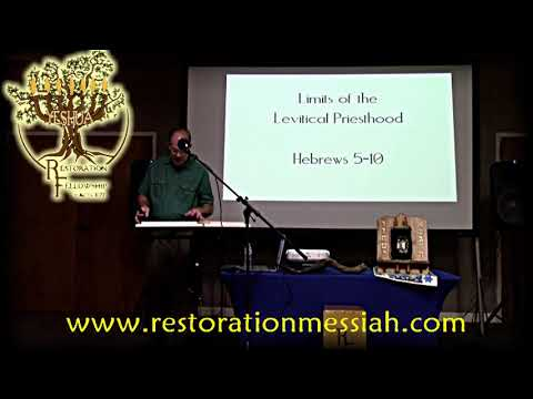 Limits to the Leviticus Priesthood - Hebrews 5+