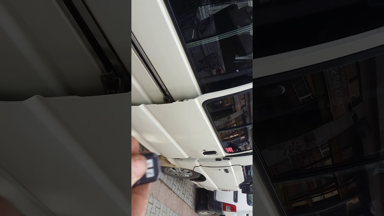 Hyundai H100 Mitsubishi L300 Otomatik Kap Sistemi Youtube Van Wiring Diagram