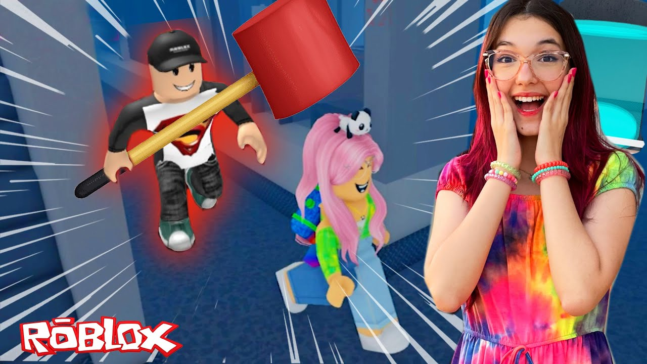 Roblox - JOGUEI FERA DA MARRETA COM MEU TIO (Flee the Facility) | Luluca Games