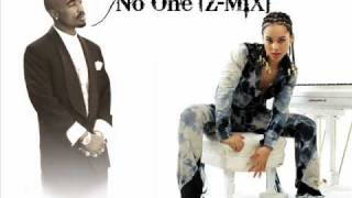 Скачать 2Pac Ft Alicia Keys No One Z MiX