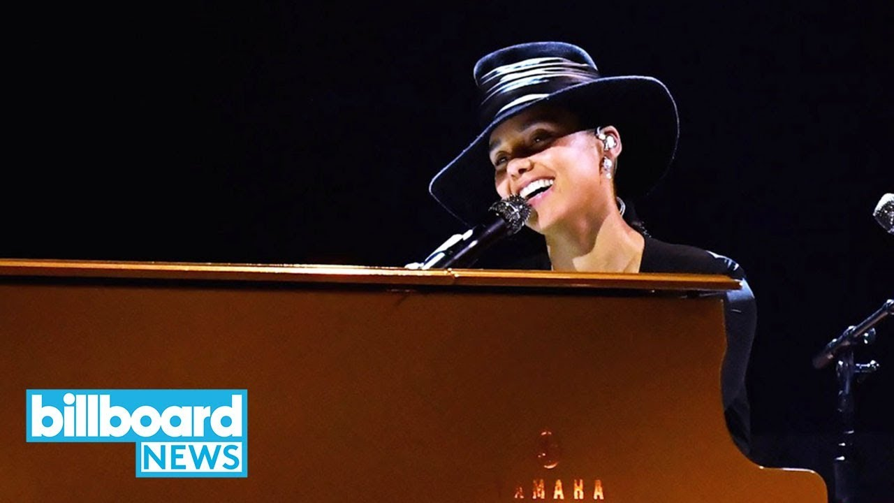 Alicia Keys' Cover of 'Doo Wop' Would Make Lauryn Hill Proud at Grammys 2019 | Billboard News