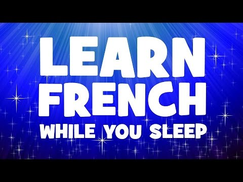 Learn 200 French verbs in your sleep