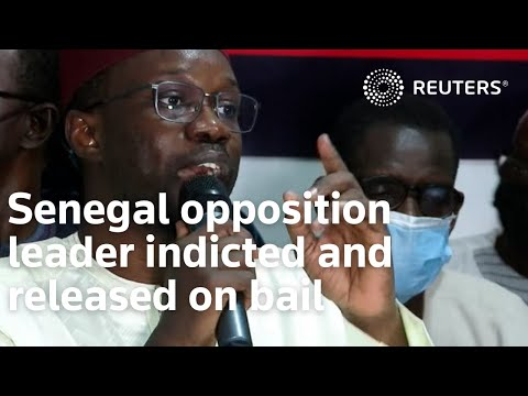 Senegal opposition leader indicted and released on bail