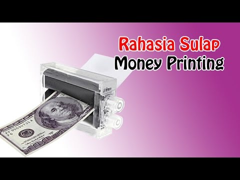 Rahasia Sulap Money Printing | MEsin Uang | Tutorial  Magic | Beginner | Dimen Shop