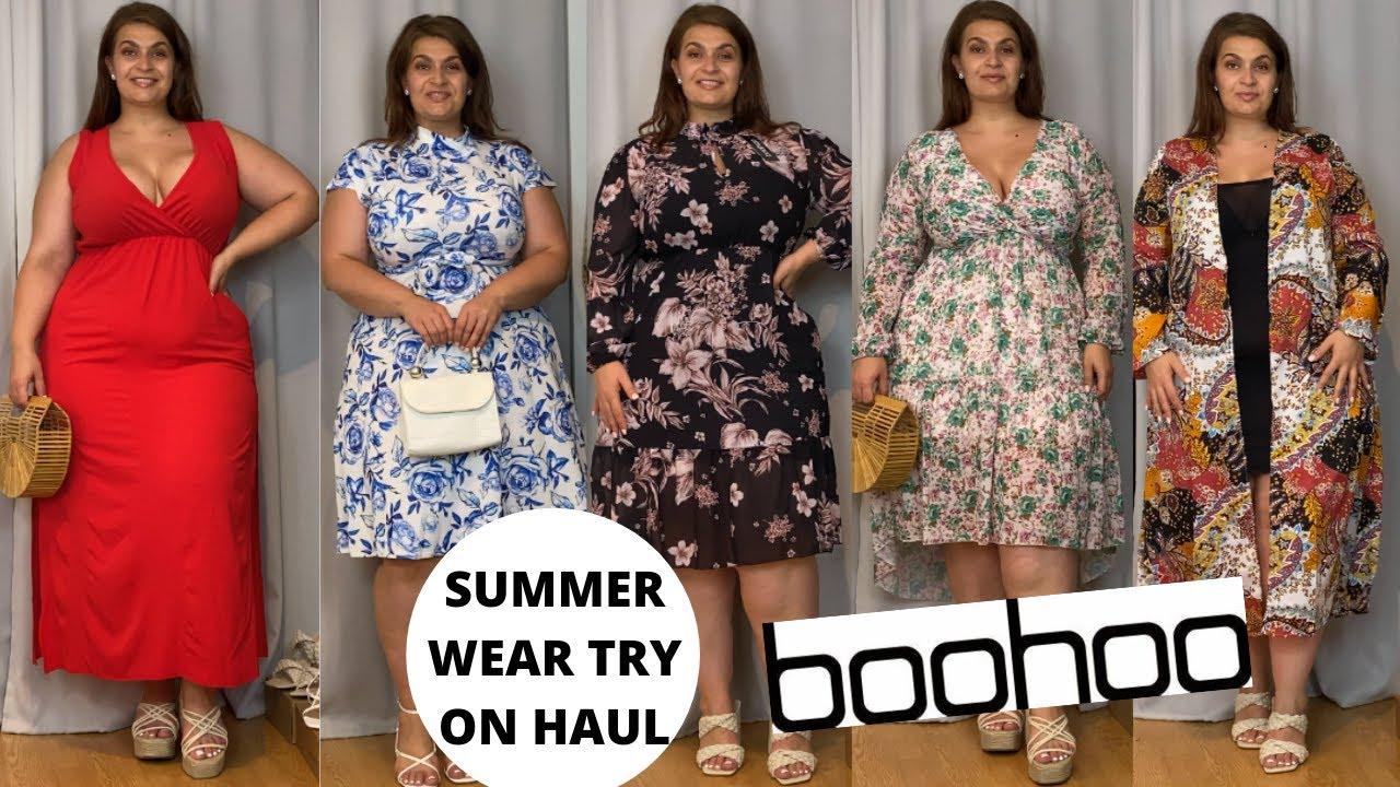 Boohoo Plus Summer Wear Try On Haul