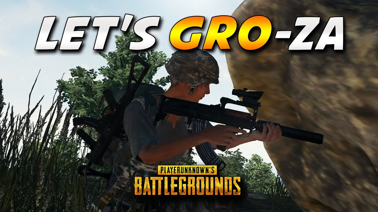 Pubg Groza Highlights Playerunknown S Battlegrounds Pubg