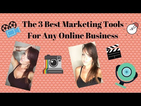 The 3 Best Marketing Tools For Any Online Business - These Will Save You Time & Make You Look Pro!