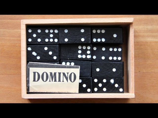 We set up Dominoes :)