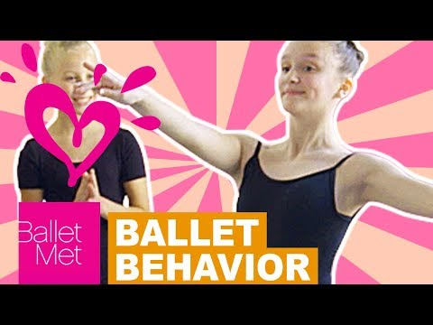 HOW TO HAVE THE BEST BALLET BEHAVIOR 💗 JUSTICE