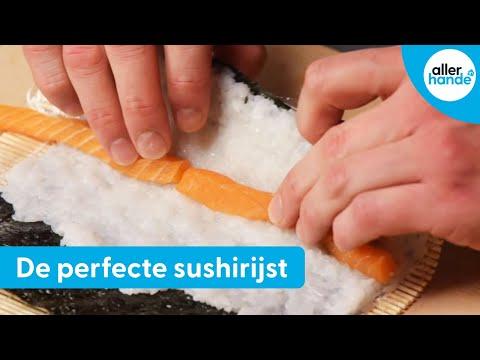 sushi maken voor beginners