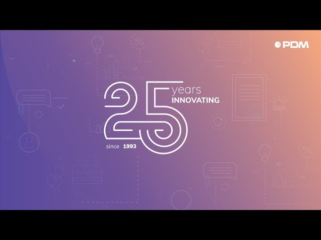 🎉 PDMFC | 25 years innovating