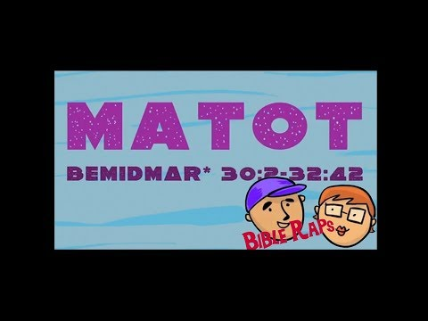 Matot: Bible Raps On The Tribes Of Israel