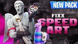 Fixx (+NEW PACK) - Fortnite Banner Speedart [#161] | AtmoArtworks