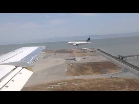 Parallel landing at SFO