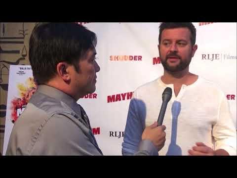 Beyond Fest 2017: Zack Andrews Red Carpet  at Mayhem Premiere