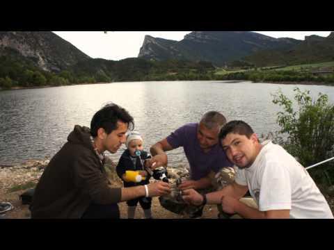 pescando en oliana