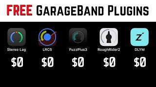 Best FREE plugins for GarageBand iOS (iPhone/iPad)