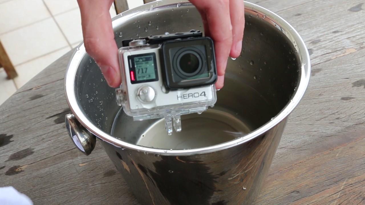 Gopro evitar agua gotas de