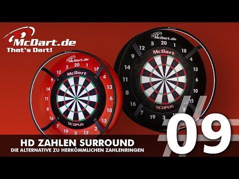 McDart HD Zahlen Surround