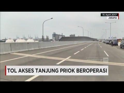 Dibuka! Tol Akses Rp 5 Triliun Tanjung Priok