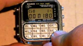 CASIO CA-901(ゲーム電卓)で遊んでみた