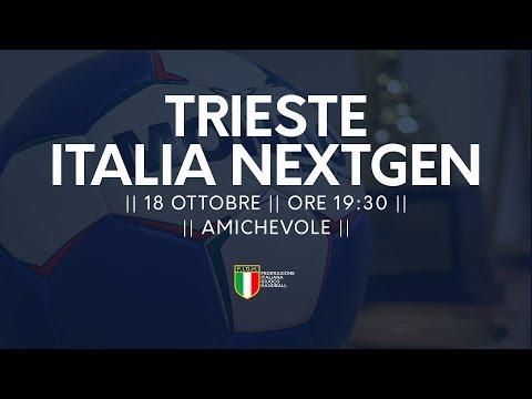 Amichevole: Trieste - Italia Next Generation 20-28