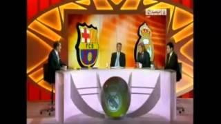 تعليق الشوط الاول لريال مدريد و برشلونة