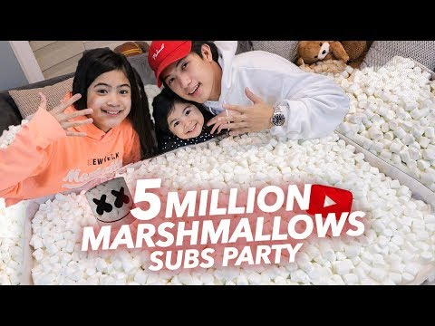 5 MILLION SUBS MARSHMALLOW PARTY! | Ranz and Niana Mp3