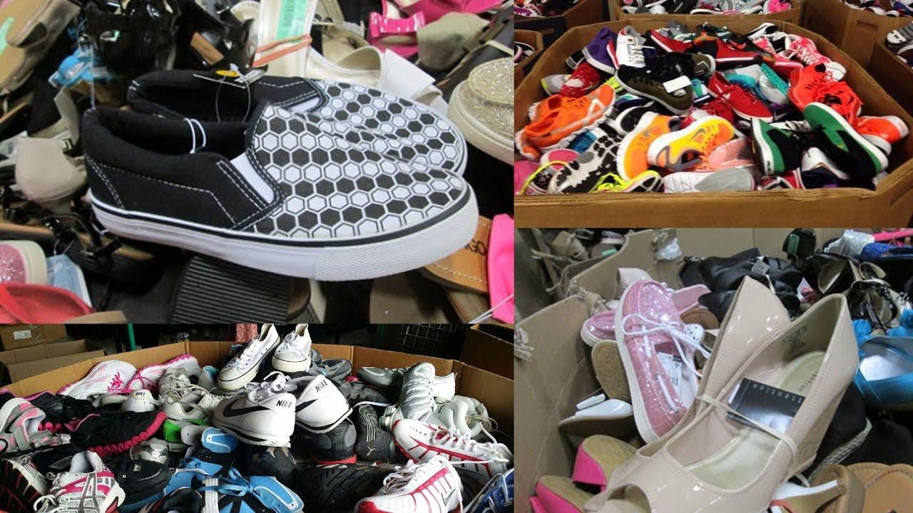 ad9bf13a Zapatos de Devolución Venta en Pacas o Contenedores USA MIAMI - YouTube