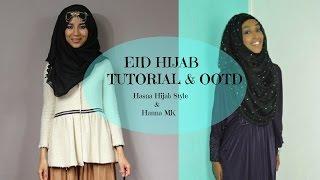 Eid Hijab Tutorial | Outfit Hijab Tutorial Thumbnail