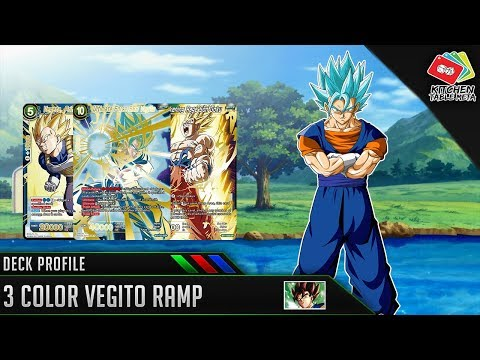 Dragon Ball Super Card Game [DBS TCG] 3 Color Vegito Ramp Deck Profile