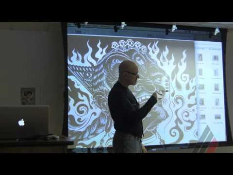 Don Colley Visiting Artist Lecture at American Academy of Art