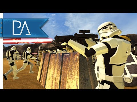 Epic Battle For Geonosis: Star Wars Clone Battle - Bear Force II Mod Gameplay