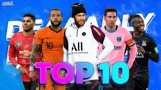 Top 10 Deadly Dribblers In Football 2020