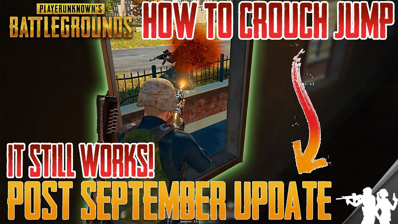 Crouch Jump Macro That Works After Binding: PUBG HOW TO CROUCH JUMP MANUALLY AFTER SEPT PATCH UPDAT